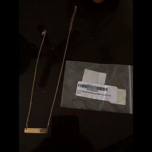 Jewelry - Sigma Kappa 24k Gold with Adjustable chain